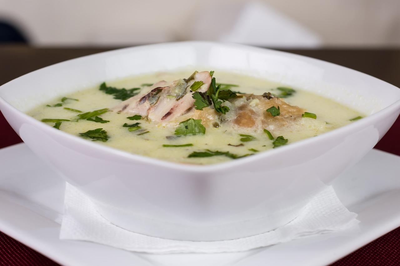 Куриный суп Авголемоно