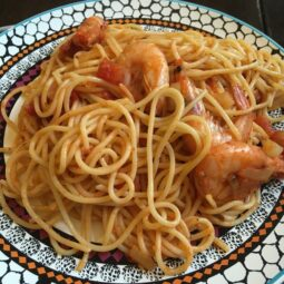 Спагетти по-средиземноморски